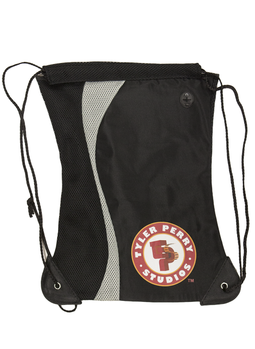 Tyler Perry Studios Drawstring  Bag