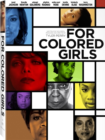 DVD: Movie -For Colored Girls
