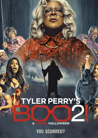 DVD: Movie -Boo2! A Madea Halloween