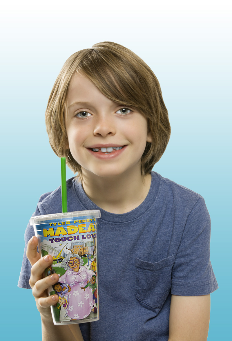 Madea's Tough Love Tumbler with Straw