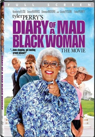 DVD: Movie -Diary of a Mad Black Woman