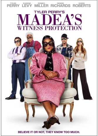 DVD: Movie -Madea's Witness Protection