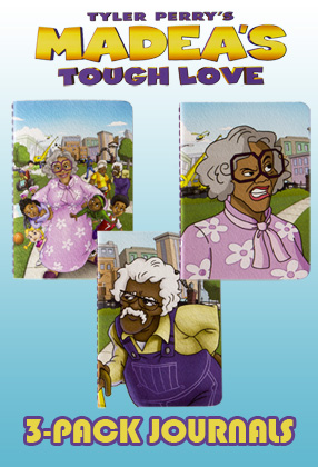 Madea's Tough Love: 3-Pack Journal